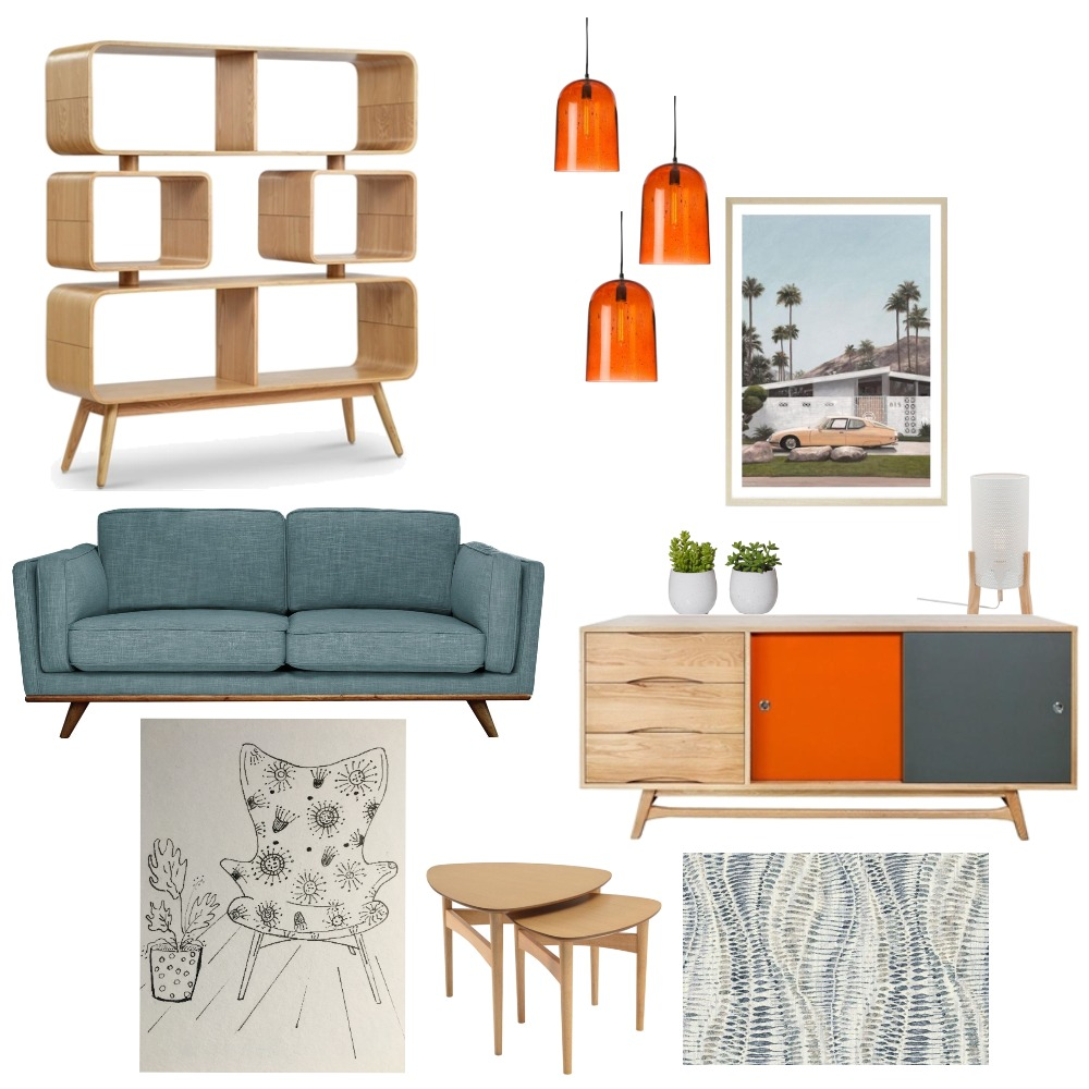 Featherston chair product board Interior Design Mood Board by VickyFitzpatrick on Style Sourcebook