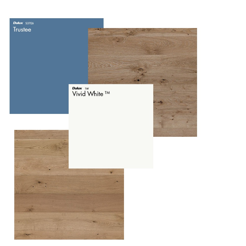 Valu Inn - Flooring & Paint Ideas Interior Design Mood Board by Motelology on Style Sourcebook
