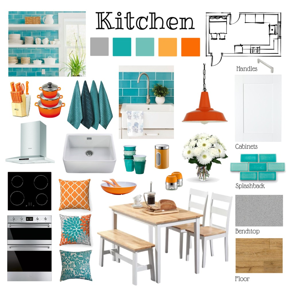 Kitchen Project Interior Design Mood Board by Paloma on Style Sourcebook