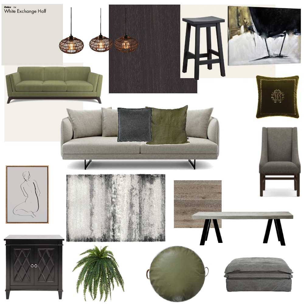 Family Room Interior Design Mood Board by Mands on Style Sourcebook