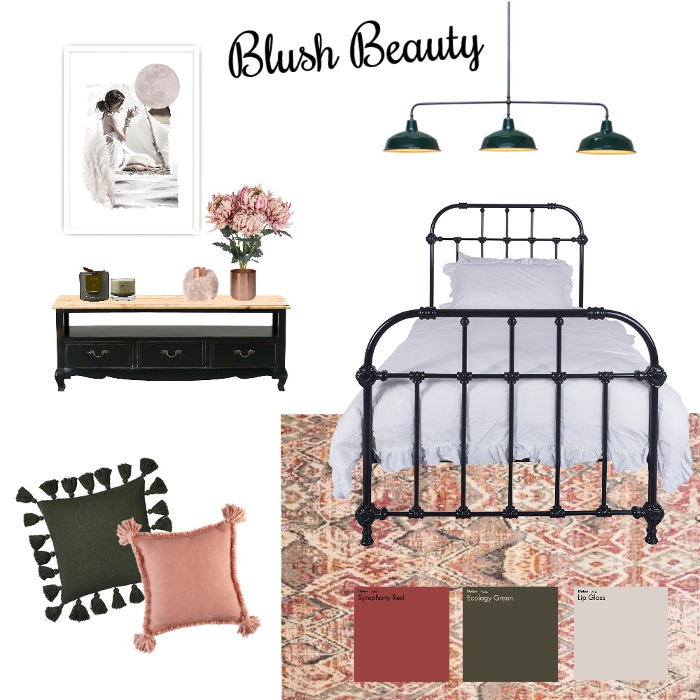 blush beauty Interior Design Mood Board by imogenmanning on Style Sourcebook