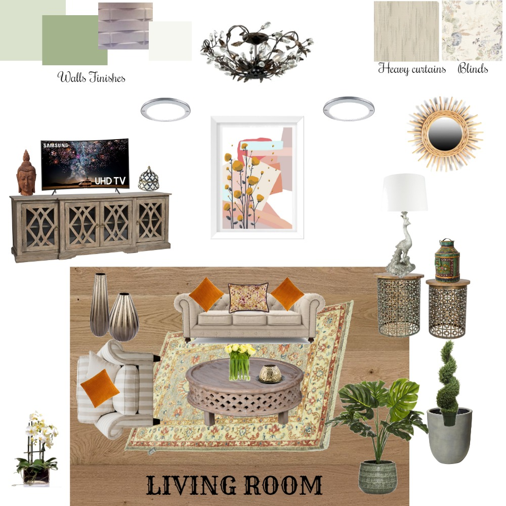 mood board for living room Interior Design Mood Board by uladha on Style Sourcebook
