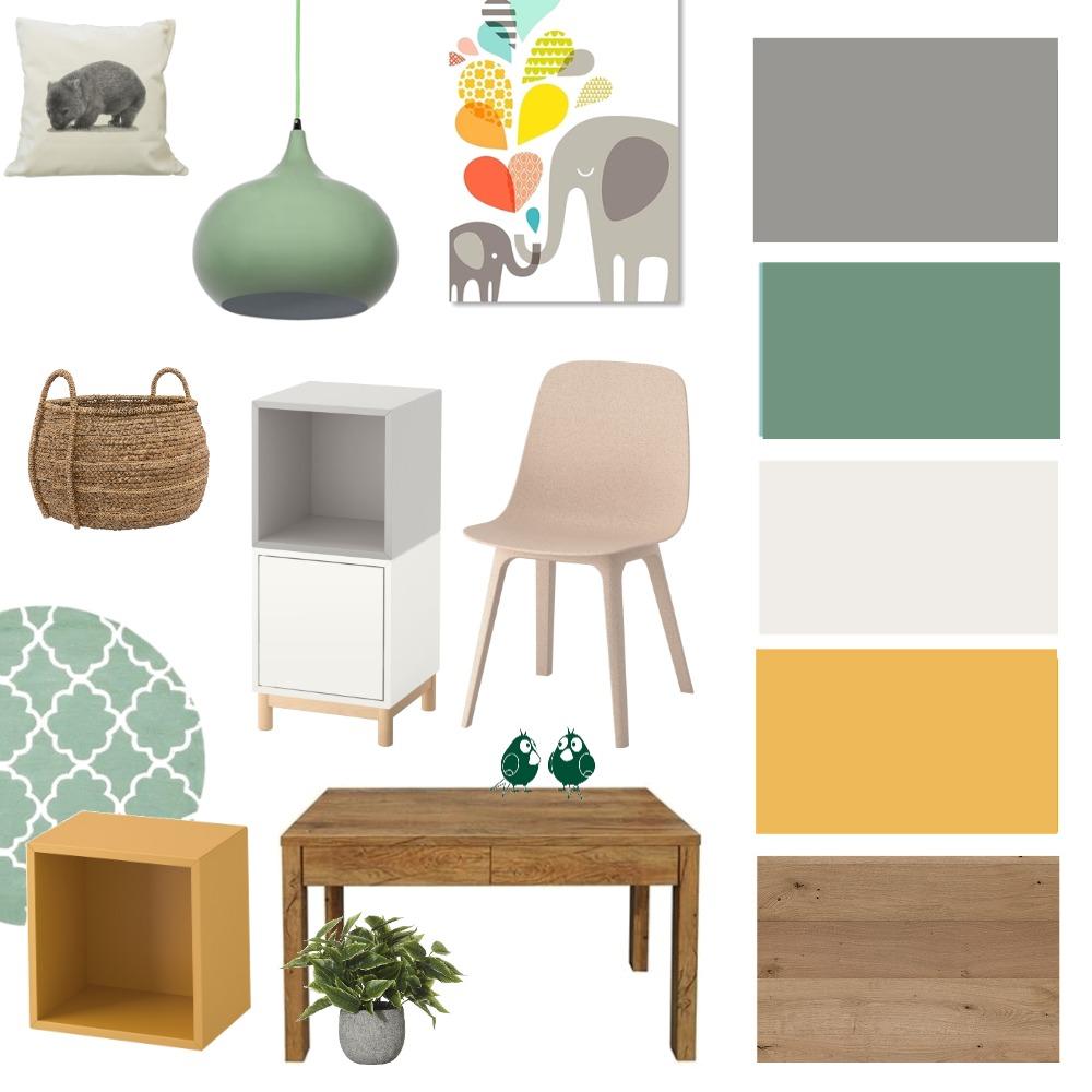 חדר משחקים -רוזן Interior Design Mood Board by mayaappel on Style Sourcebook