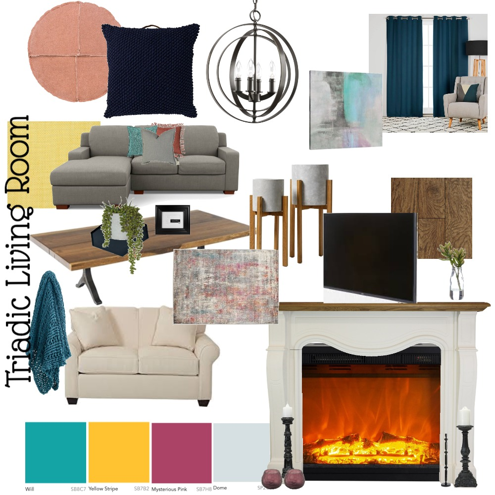 Class - Living Room Interior Design Mood Board by mfye on Style Sourcebook