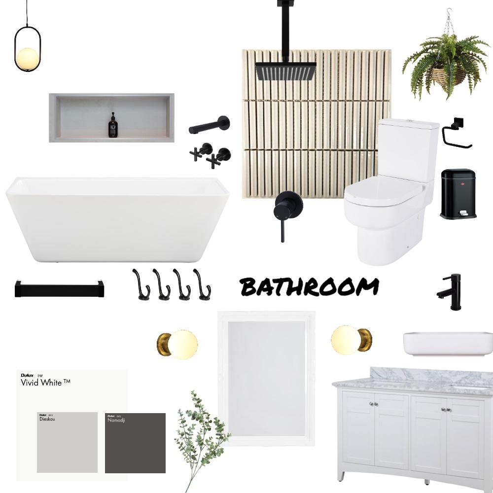 fitzroy bathroom Interior Design Mood Board by KUTATA Interior Styling on Style Sourcebook