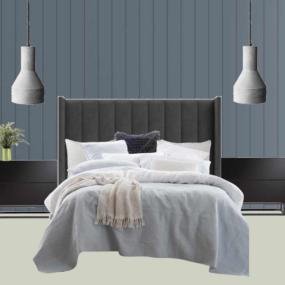 Master Bedroom Back Wall Interior Design Mood Board by LukeChristian on Style Sourcebook