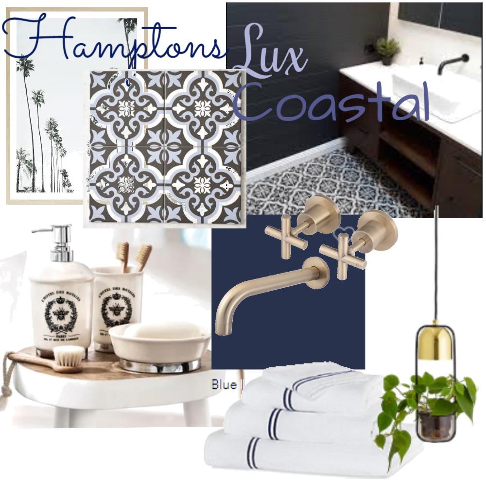 Hamptons Coastal Bathroom Interior Design Mood Board by Jadeos on Style Sourcebook