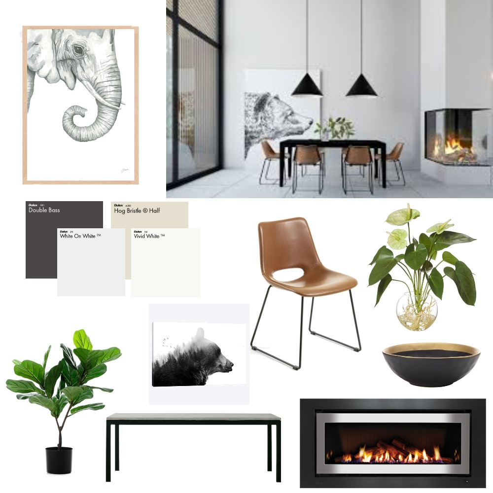 Dining room Interior Design Mood Board by CharlieBe on Style Sourcebook