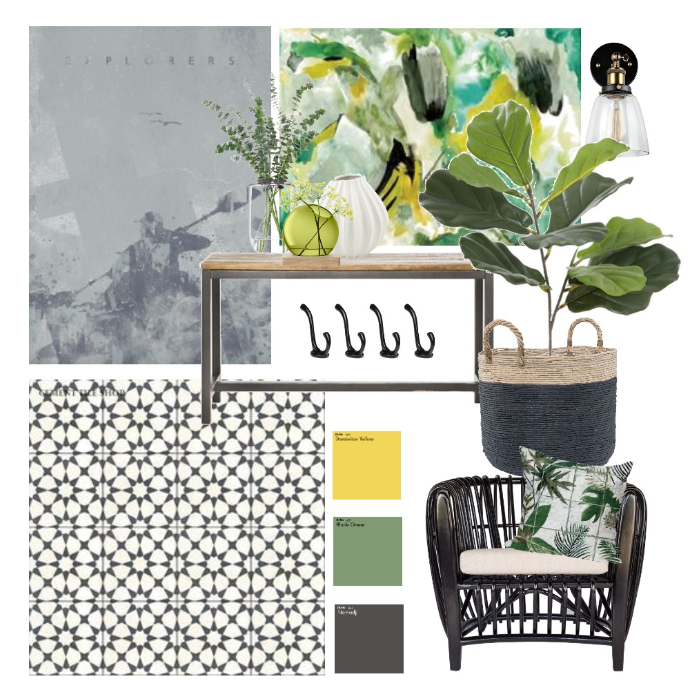 Entrance Interior Design Mood Board by plumperfectinteriors on Style Sourcebook
