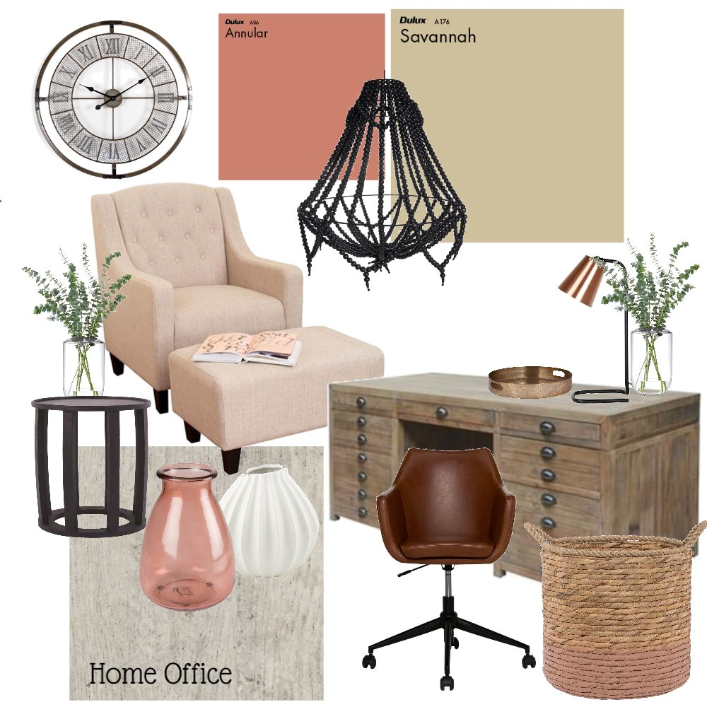 Study Interior Design Mood Board by CJGDesign on Style Sourcebook
