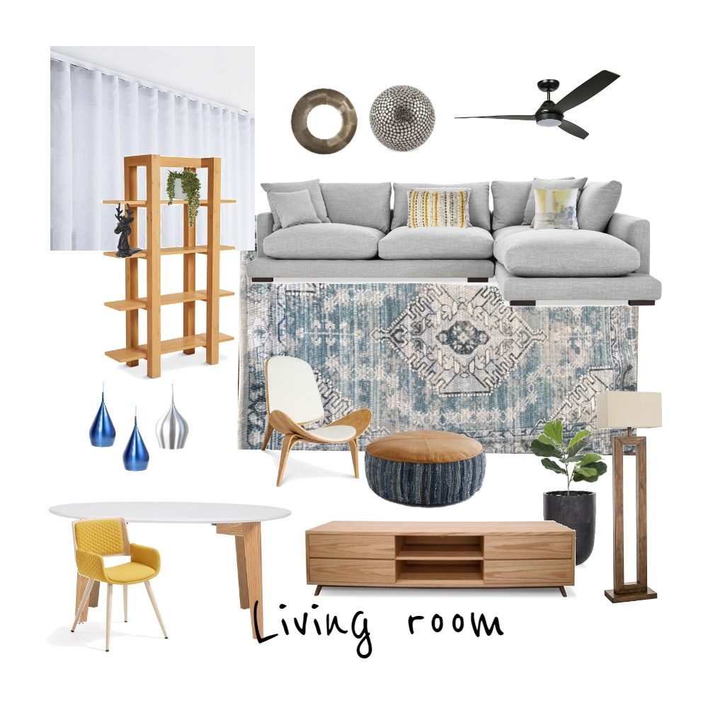 Living_room Interior Design Mood Board by Maria on Style Sourcebook