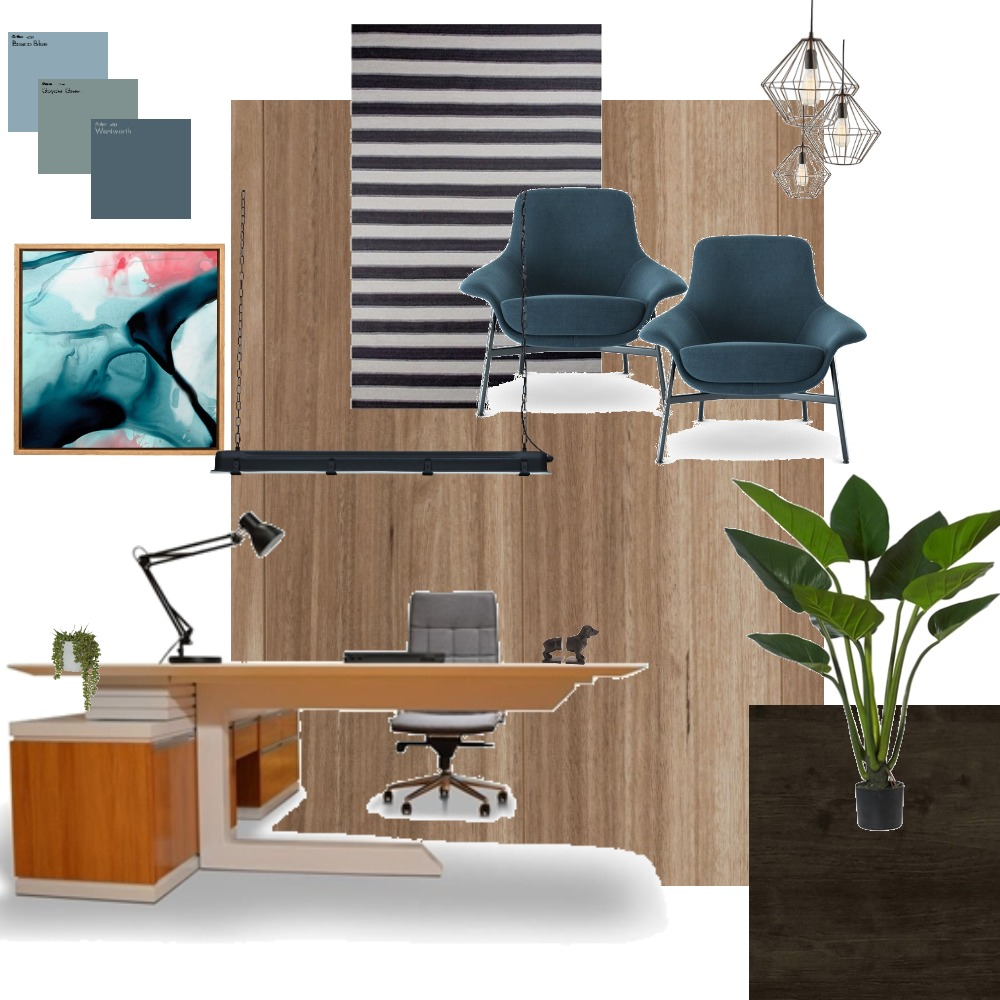 study Interior Design Mood Board by Heather on Style Sourcebook