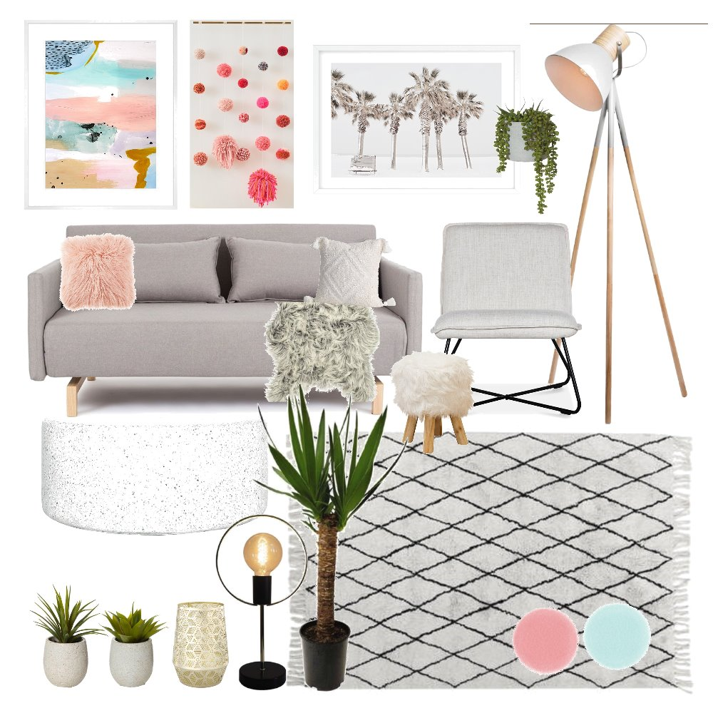 Living Room 4 Interior Design Mood Board by AmberCynthie on Style Sourcebook