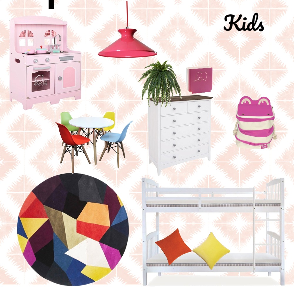 Kids Interior Design Mood Board by Anthea Harms on Style Sourcebook