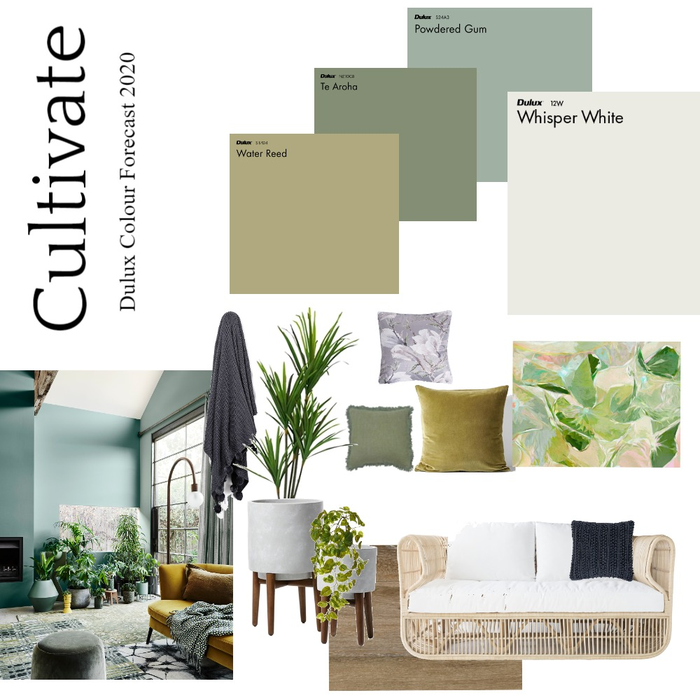 Cultivate Interior Design Mood Board by Dulux Australia on Style Sourcebook