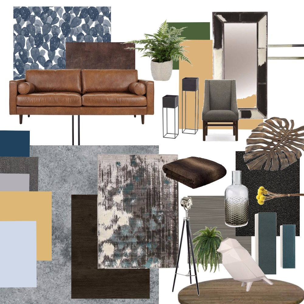 Eclectic (with some Urban chic) Interior Design Mood Board by dfernandez10 on Style Sourcebook