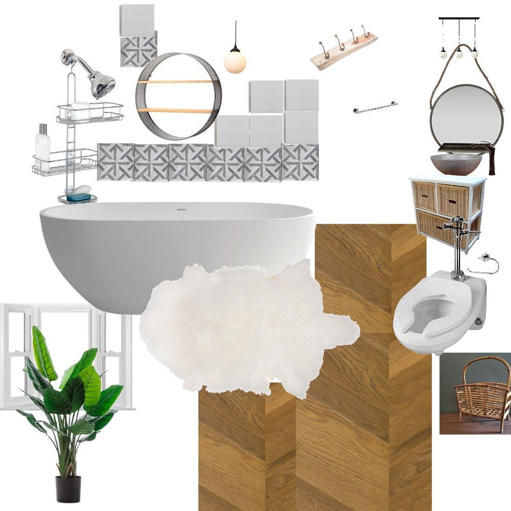 Scandinavian Bathroom Interior Design Mood Board by OlgaL on Style Sourcebook
