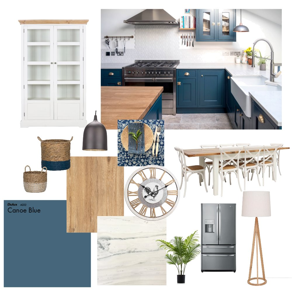 Country Kitchen Interior Design Mood Board by jasmine1808 on Style Sourcebook