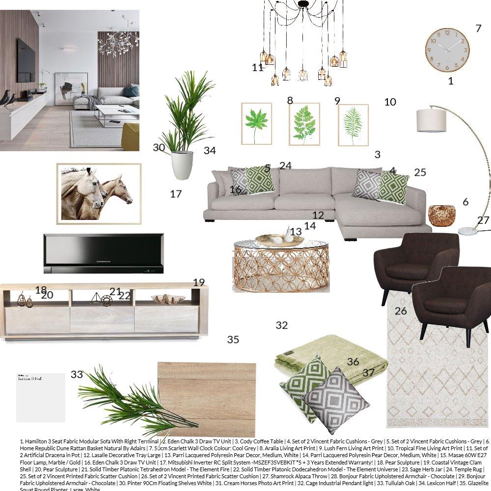 Modern living room Interior Design Mood Board by IrinaS on Style Sourcebook