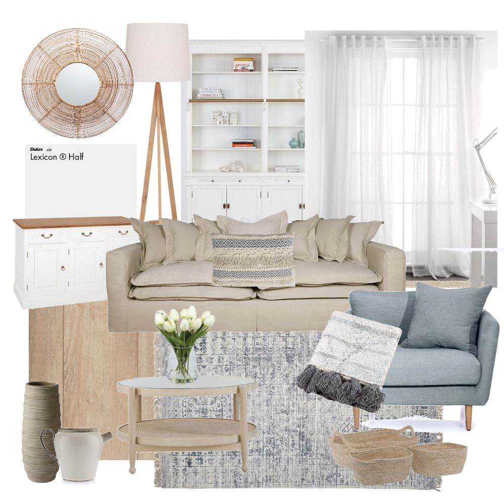 living Interior Design Mood Board by Tayla on Style Sourcebook
