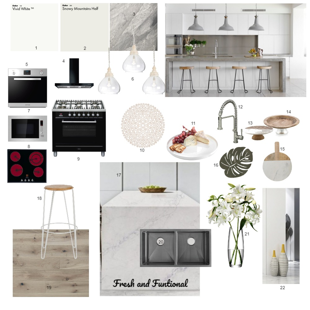 Kitchen module 9 Interior Design Mood Board by lindagillis27 on Style Sourcebook