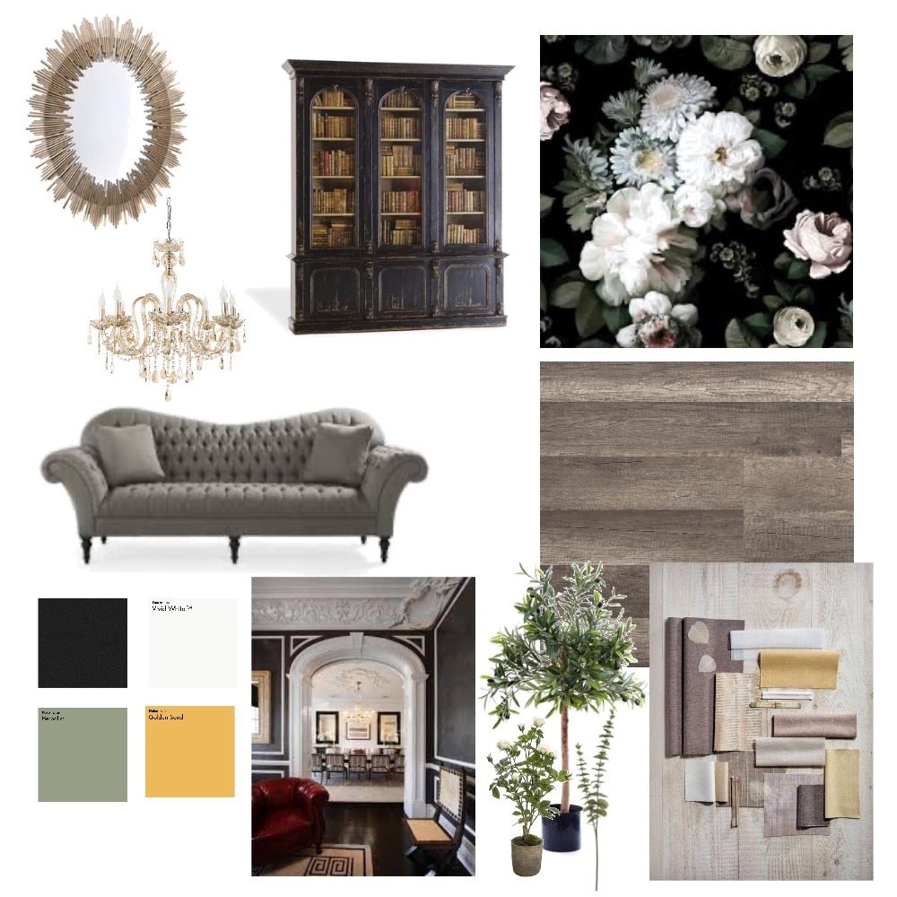 victorian Interior Design Mood Board by HassHouz on Style Sourcebook