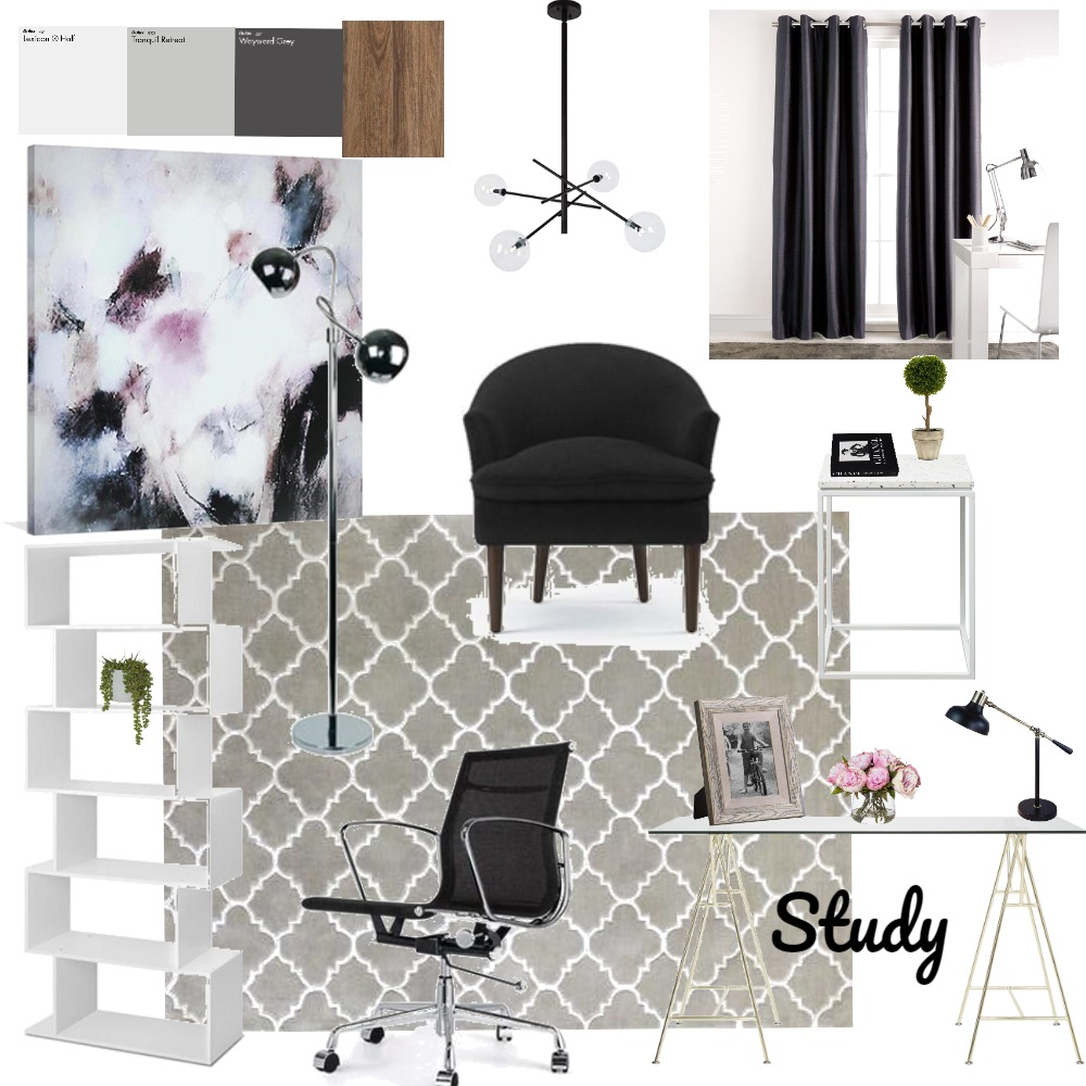 Study Interior Design Mood Board by Katiexcx on Style Sourcebook