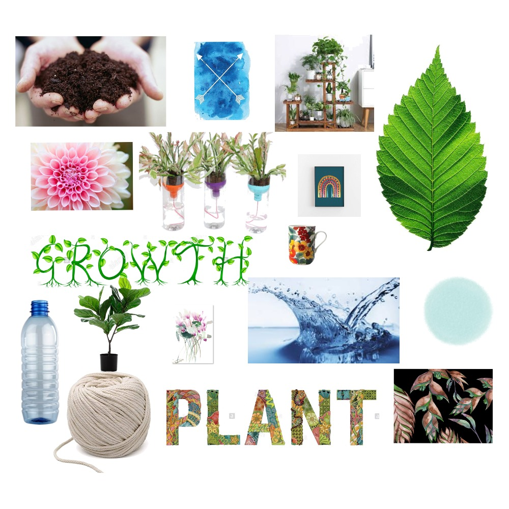 Self - Watering Plant Mood Board Interior Design Mood Board by fatimah.zahr on Style Sourcebook