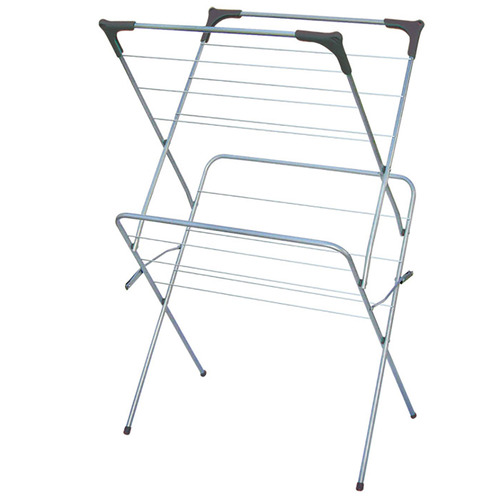 Sunbeam 2 Tier Enamel Coated Steel Clothes Drying Rack by Temple & Webster, a Laundry Bags & Baskets for sale on Style Sourcebook