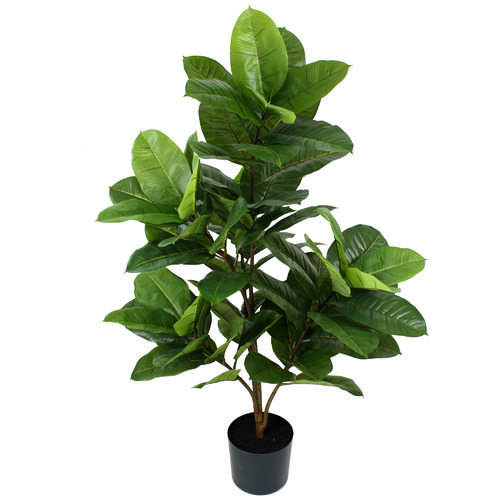 137cm Potted Faux Rubber Plant by Temple & Webster, a Plants for sale on Style Sourcebook