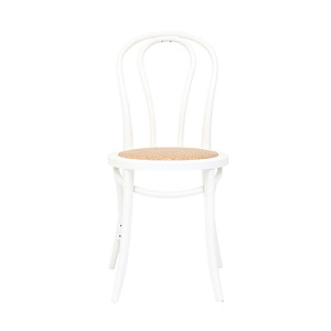 Crimson Bentwood Chair in White by OzDesignFurniture, a Dining Chairs for sale on Style Sourcebook