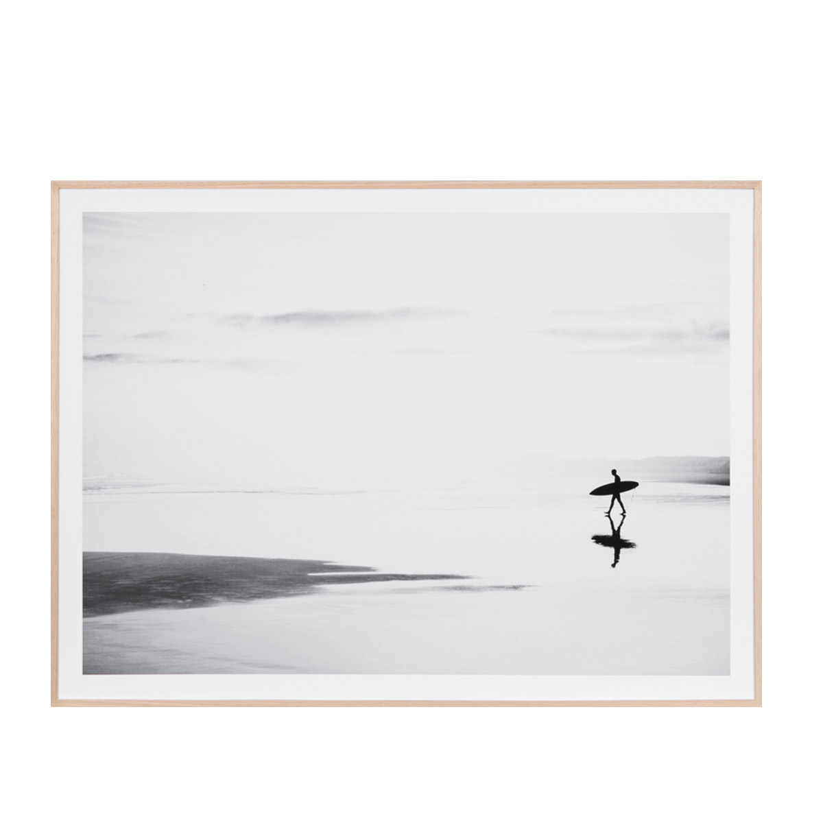 Quiet Surf Framed Print in 114 x 85cm by OzDesignFurniture, a Prints for sale on Style Sourcebook