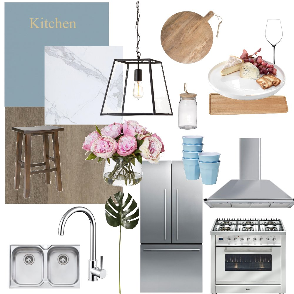 Our Kitchen Interior Design Mood Board by EzzyH on Style Sourcebook