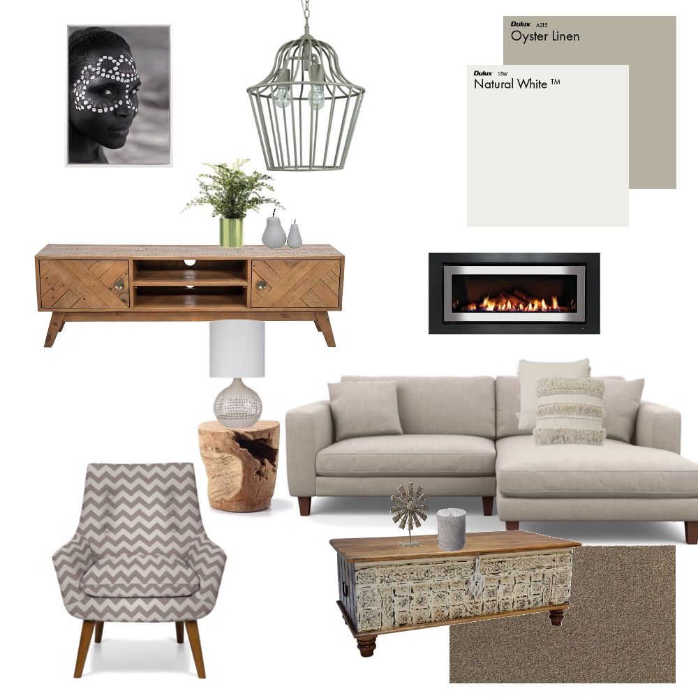Angela Loungeroom Interior Design Mood Board by JRM Projects on Style Sourcebook