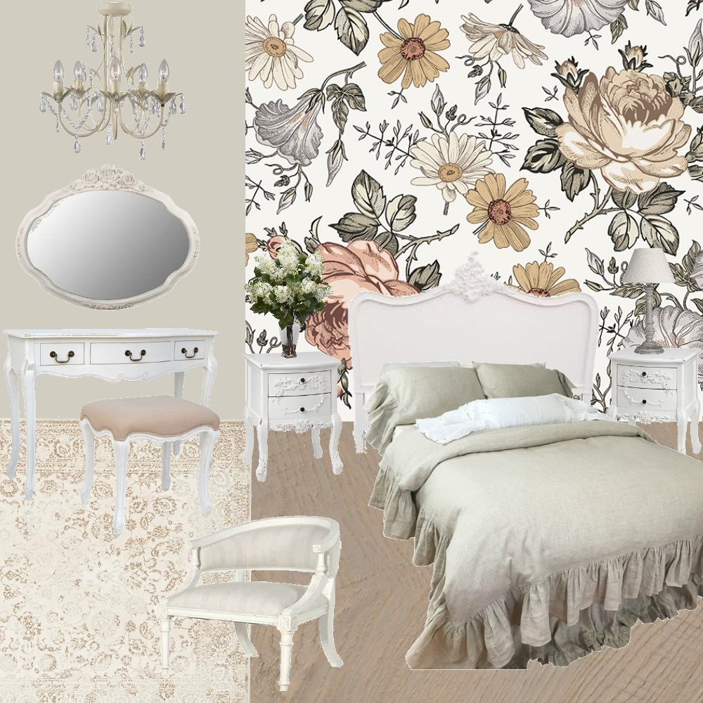 Shabby Chic Interior Design Mood Board by ChloeGailBryant on Style Sourcebook