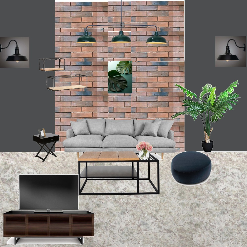 INDUSTRIAL Interior Design Mood Board by zaq on Style Sourcebook
