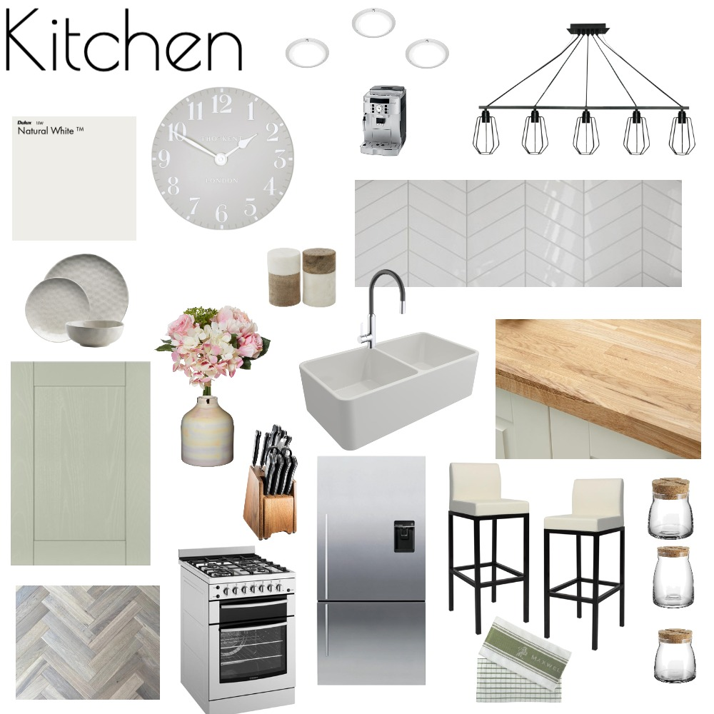 Kitchen Moodboard Interior Design Mood Board by Vicky Fitz on Style Sourcebook