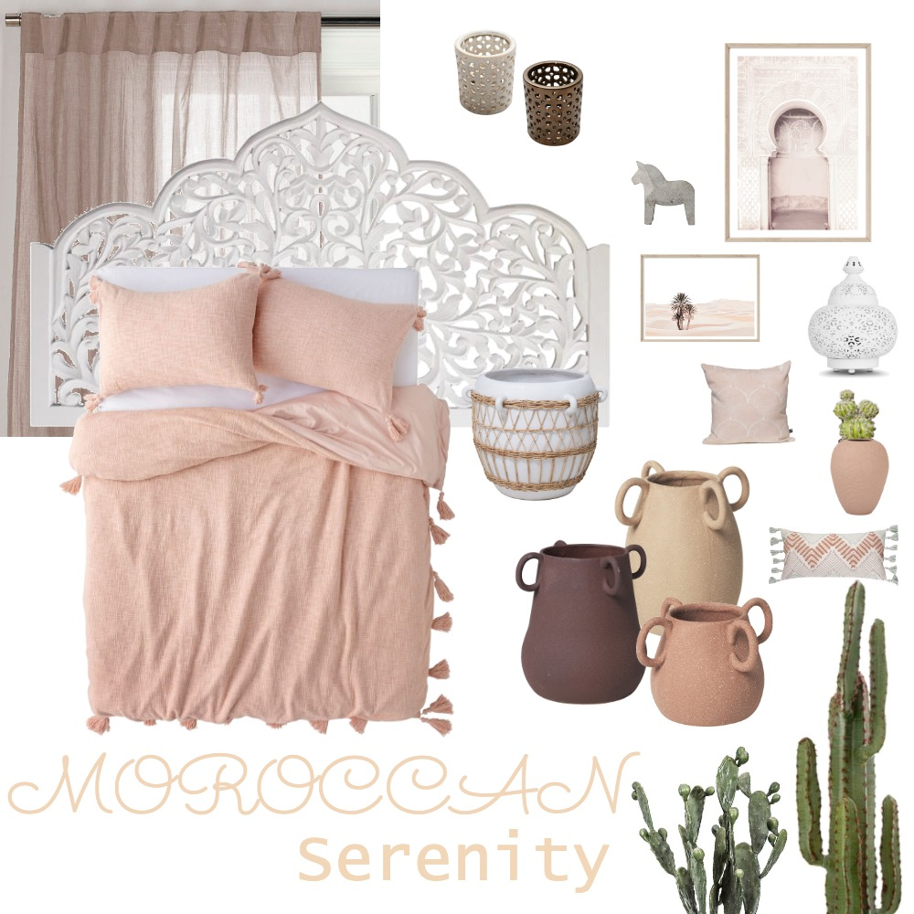 Moroccan Serenity Interior Design Mood Board by kjawnointeriors on Style Sourcebook