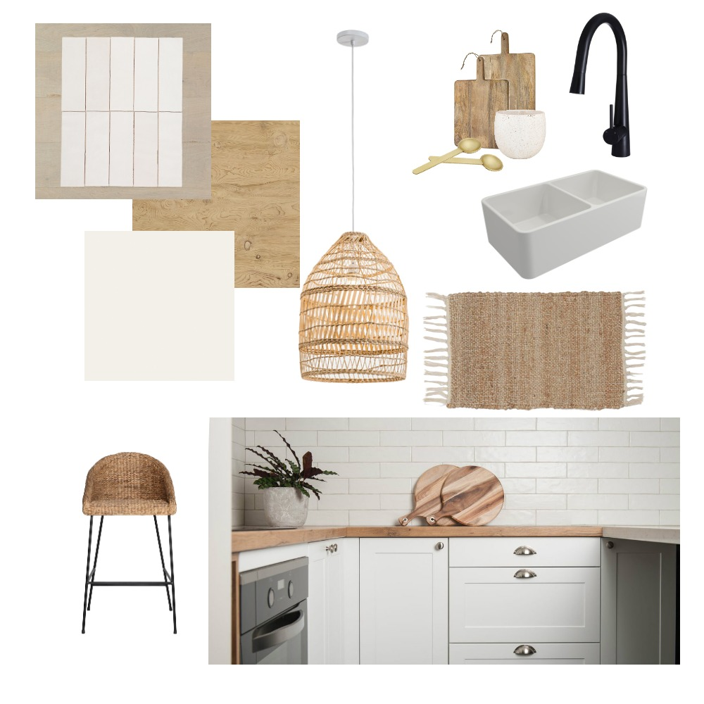 Scandi Kitchen Interior Design Mood Board by Styledbymel on Style Sourcebook