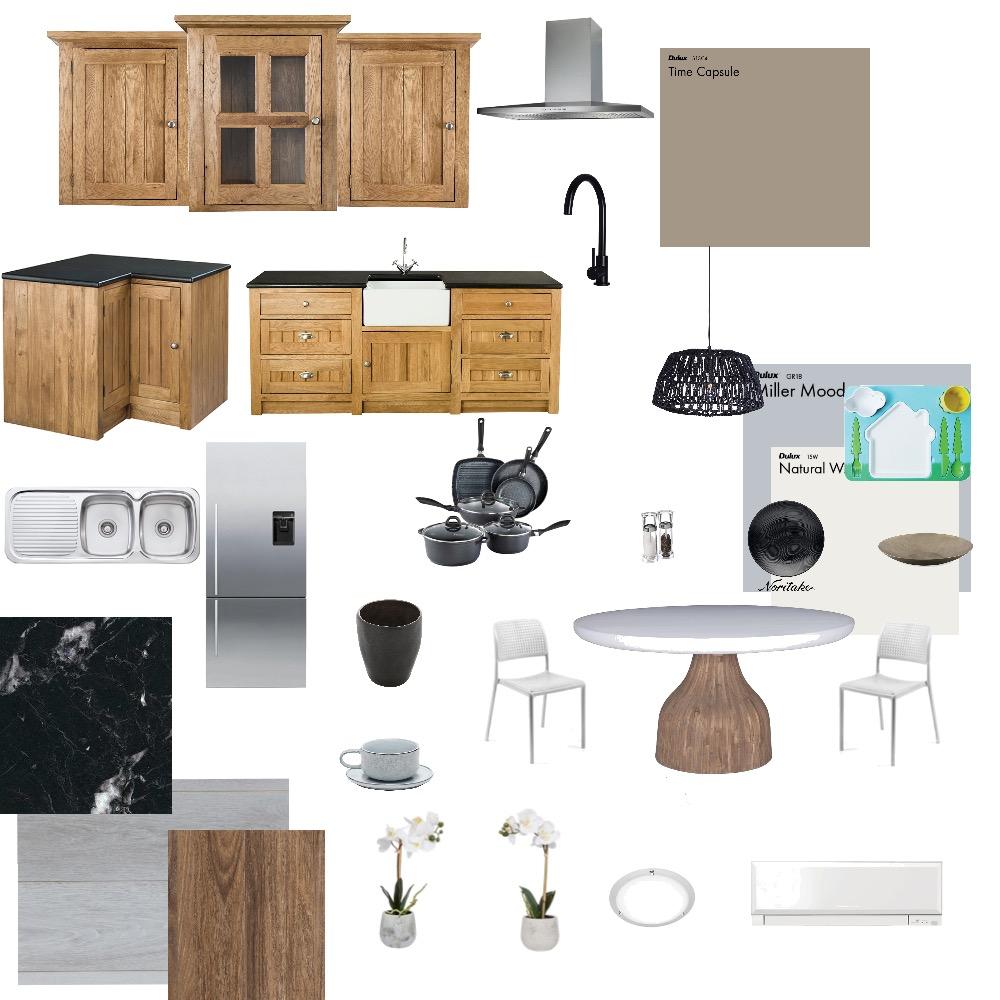 Moodboard dining + kitchen Interior Design Mood Board by vikrygungrrr on Style Sourcebook