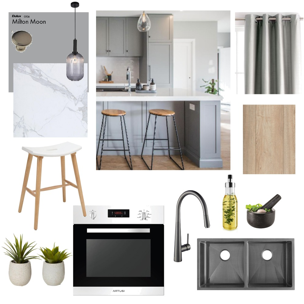 Kitchen Interior Design Mood Board by Seventy7 Interiors on Style Sourcebook