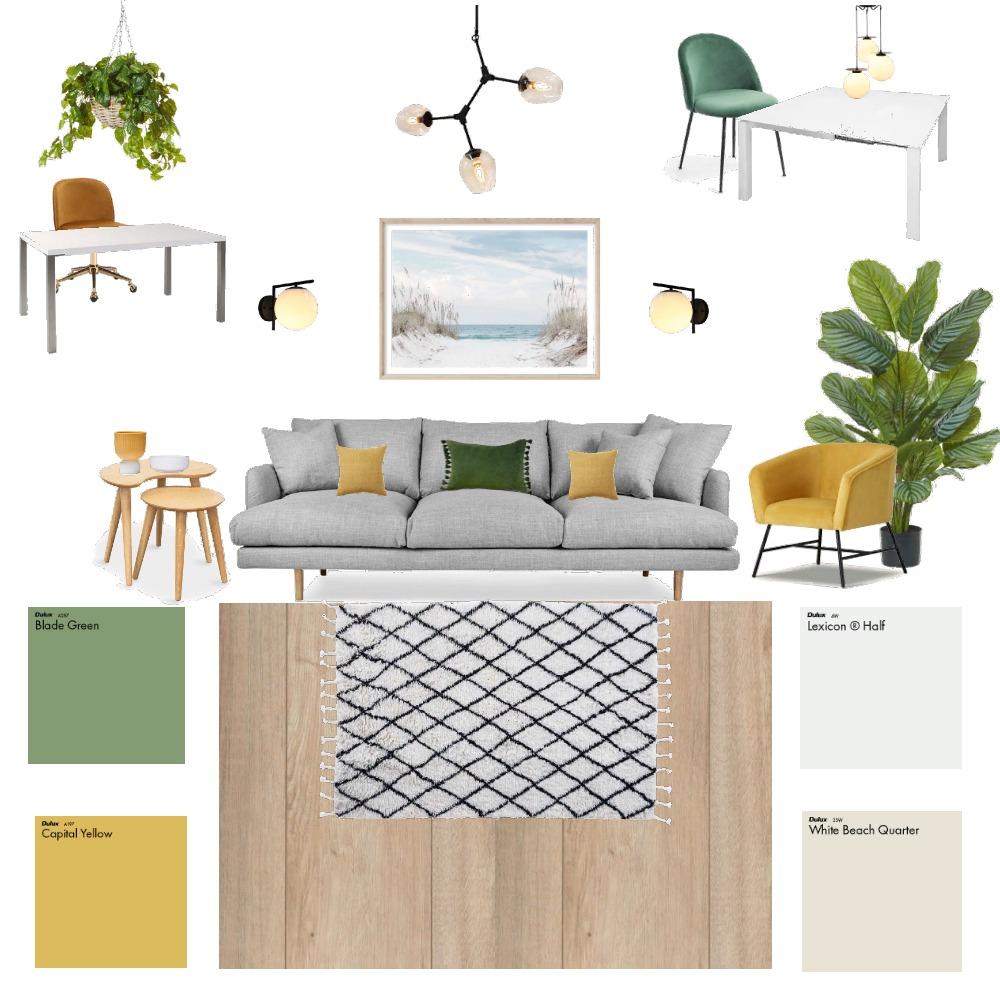 "Комната для 2-х сестер в стиле ""Сканди"" Interior Design Mood Board by NEWINTERIOR on Style Sourcebook"