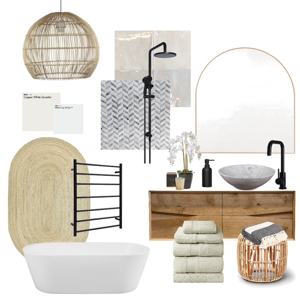 Northcote Ensuite 6/6/20 Interior Design Mood Board by antheajoshua on Style Sourcebook