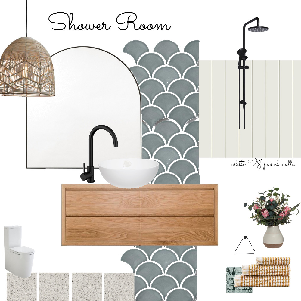 shower room Interior Design Mood Board by bianca.peart on Style Sourcebook