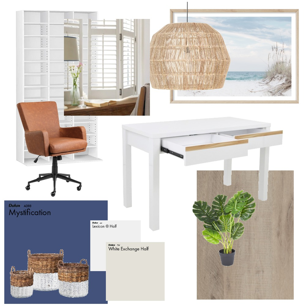 Home Office Interior Design Mood Board by miacarella on Style Sourcebook