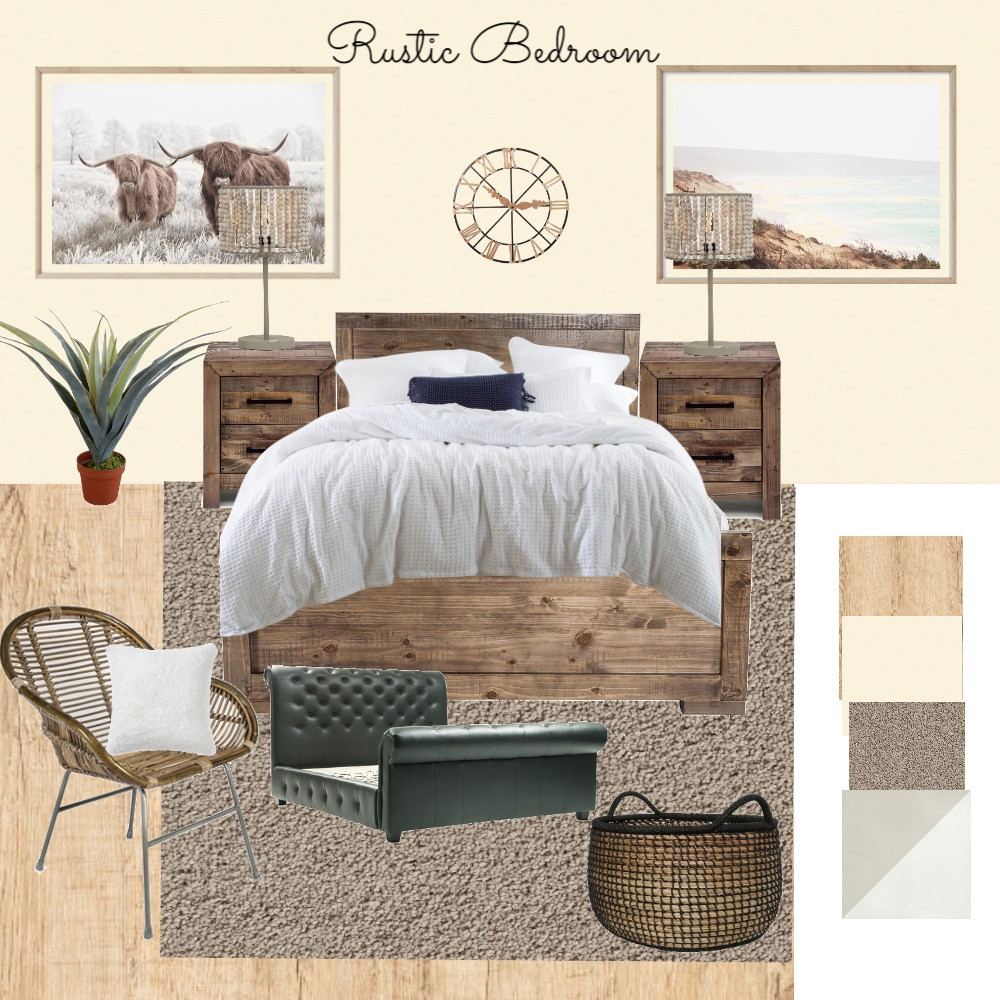 MY design rustic Interior Design Mood Board by BlossomDesigns on Style Sourcebook