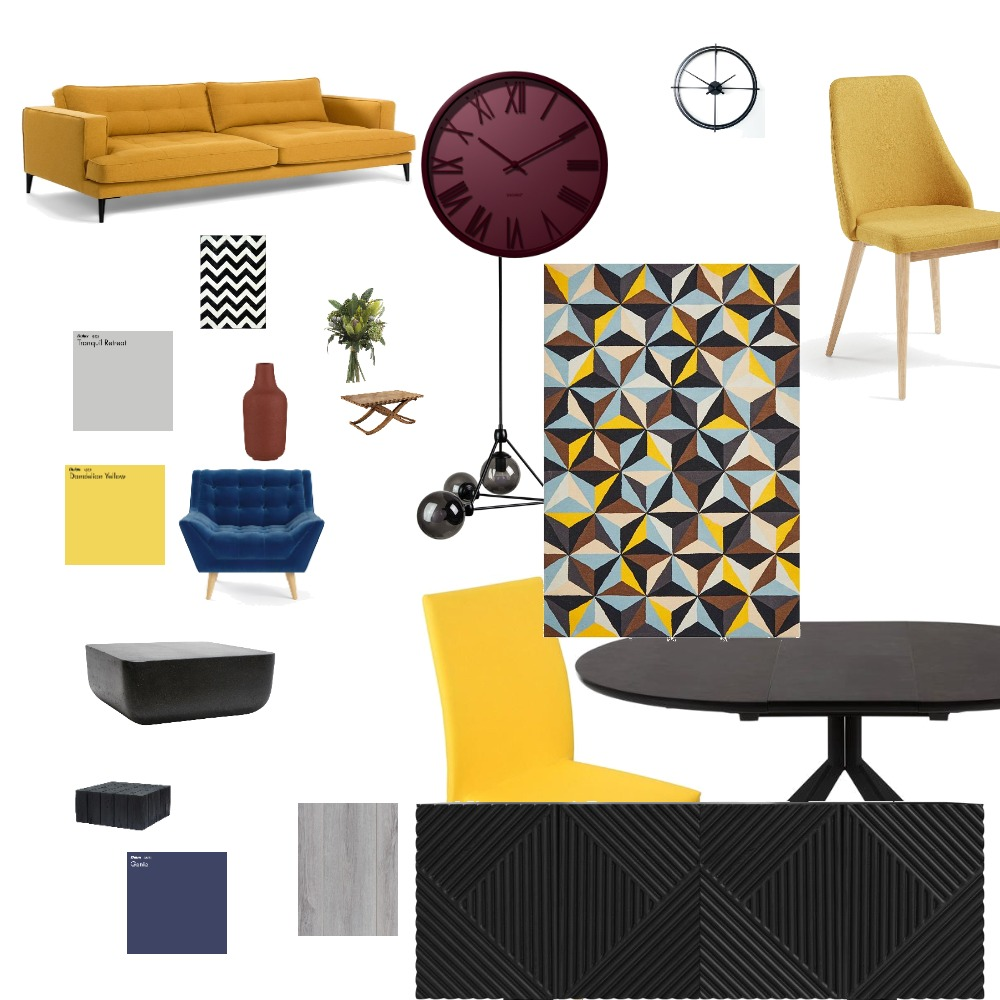 mid century Interior Design Mood Board by mjanainab on Style Sourcebook
