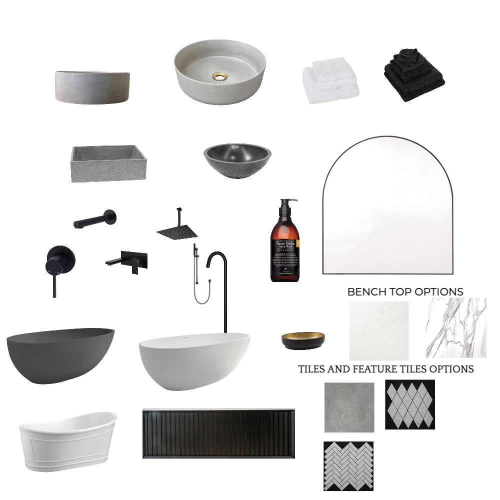 MAIN BATHROOM Interior Design Mood Board by Jessmonty on Style Sourcebook