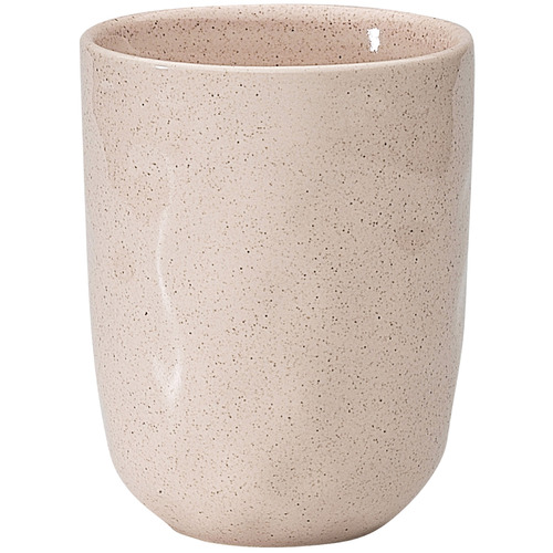 Pink Ecology Speckle Cheesecake 250ml Stoneware Cuddle Mug by Temple & Webster, a Cups & Mugs for sale on Style Sourcebook