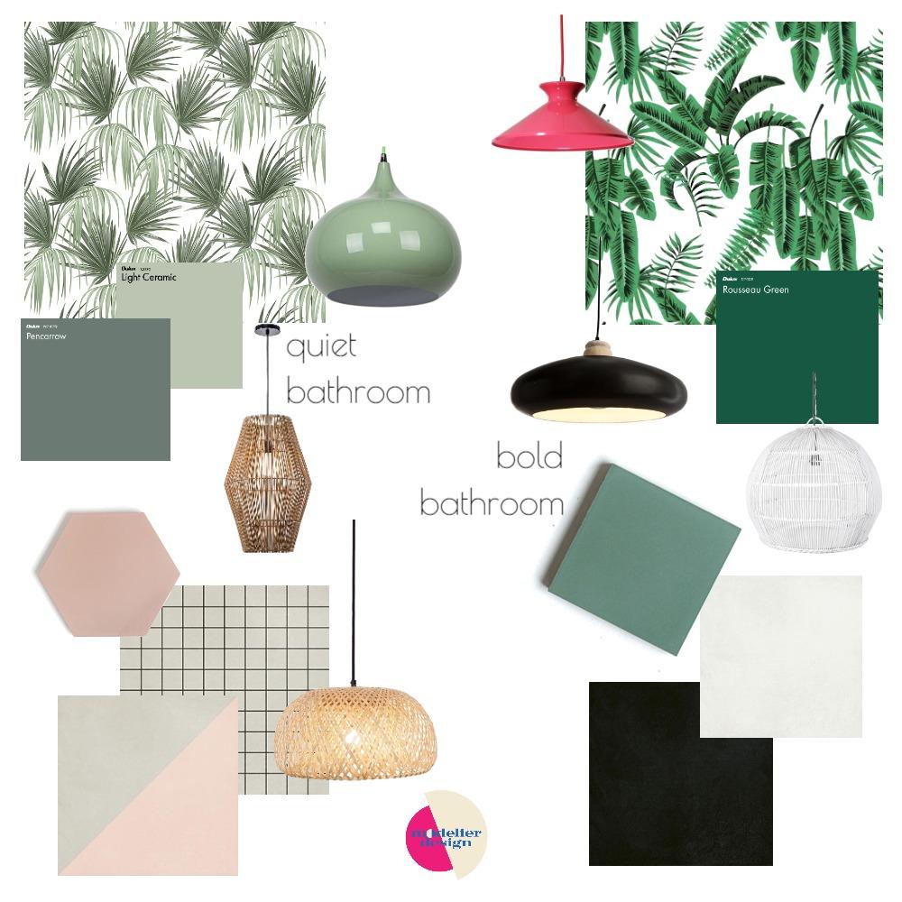 dingley bathroom bold & quiet Interior Design Mood Board by modelier design on Style Sourcebook